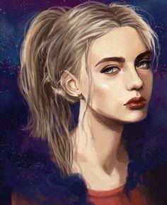 Omg this Annabeth art is gorgeous!!!!