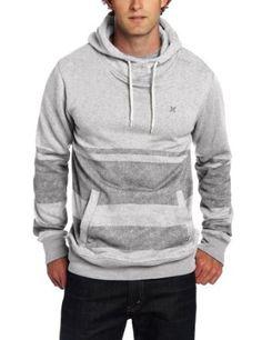 Hurley Clothing | Amazon.com: Hurley Men's Retreat Stripe Pullover Hoodie: Clothing