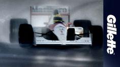 Ayrton Senna: Uma Homenagem da Gillette | Gillette Brasil #Senna #F1