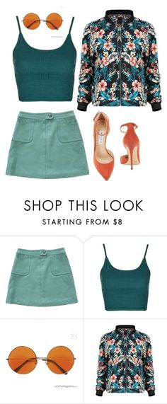 """""""Untitled #276"""" by kenzie-raye13 on Polyvore featuring Paul & Joe, Topshop and Jimmy Choo"""