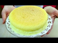 COTTON CHEESECAKE (Cheesecake Giapponese) - Homemade Japanese Cheesecake - YouTube