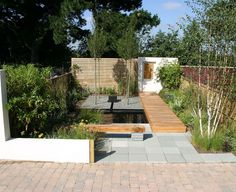 The brief was to design a relatively low budget garden for a typical plot of a new build house in the UK. I kept construction simple and the design is...