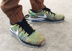 nike air max flyknit multicolor 02 570x406 Nike Flyknit Air Max Multicolor