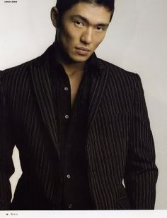 Rick Yune - actor, model, qualified for Olympic Tae Kwon Do trials at 19, former Golden Gloves boxer, has a business degree and was a hedgefund trader on Wall Street - smart, sexy, classy, kickass - what more can you ask for?