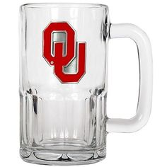 Great American Products Officially Licensed NCAA 20 oz. Root Beer Mug - Oklahoma Sooners