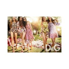Dolce & Gabbana Spring Summer 2011 Ad Campaign ❤ liked on Polyvore featuring d&g
