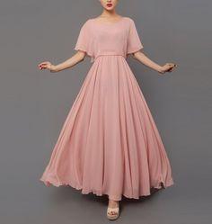 Spring+summer+chiffon+long+dress+lady+women+clothing+by+handok,+$86.00