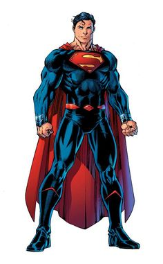 Rebirth: Superman by Jim Lee, colours by Alex Sinclair *