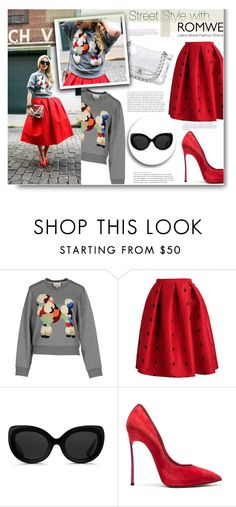 """""""Stop making a big deal out of the little things"""" by sunshineb ❤ liked on Polyvore featuring 3.1 Phillip Lim, Chanel and Casadei"""