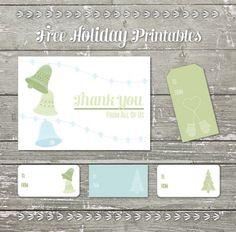 Six Festive and Fun Holiday Printables