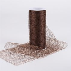 Sisal Mesh Wrap Rolls Chocolate Brown ( 6 x 10 Yards ) - Buy Quality ribbons, tulle fabric, floral mesh and all your craft need at one stop at affordable price and low shipping cost from Ribbons. Tulle Shop, Tulle Fabric, Yard Sale, Sisal, Wedding Supplies, Deco Mesh, Chocolate Brown, Wedding Accessories, Decorative Items