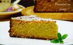 Receitas de pecados no prato: Bolo de batata doce com coco