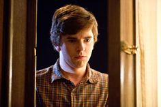 Check Out pic 6/7 - Sn 2, Ep 4 - Bates Motel on A&E/. The casting for Norman is brilliant. I just love the expressions Freddie gives to the role! Here Norman arrives home and hears Norma and Dylan having an argument.