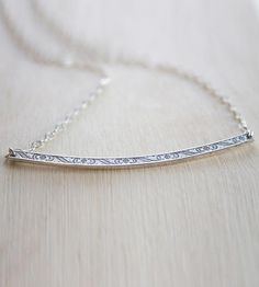 Lillian Sterling Silver Necklace