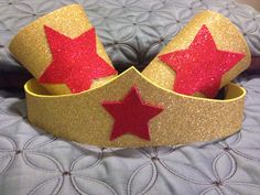Wonder Woman Headband And Cuffs DIY
