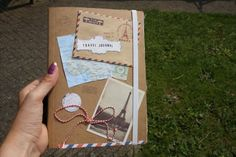 DIY: make your personal travel journal! [ From: http://www.girlscene.nl/p/1680/diy_travel_journal ]