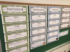 "11"" x 17"" posters cut in half for these horizontal CMS posters.  Also, the former 9 standards are cited on each standard.  Enduring Understandings and Essential Questions included.  I also added an ""I can..."" or ""I am..."" statement at the bottom for elementary level Growth Mindset development."