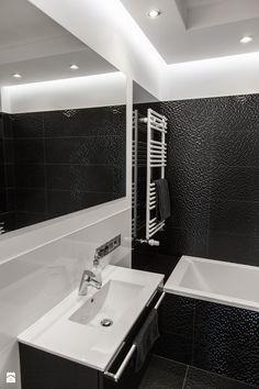 Czarno-biała Łazienka - zdjęcie od IVO-DESIGN