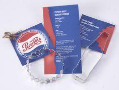 Pepsi Cola Custom Cookie Cutters