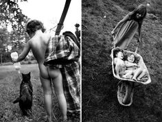 Alain Laboile tem 6 filhos e mora em meio a natureza, desde que as crianças nasceram ele deixa a máquina fotográfica no quintal para registrar os momentos afetivos e as brincadeiras entre os irmãos. Veja as fotos: