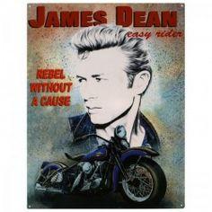"""Plaque murale """"James Dean"""""""