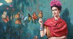 Frida Kahlo, Unknown on ArtStack #frida-kahlo #art