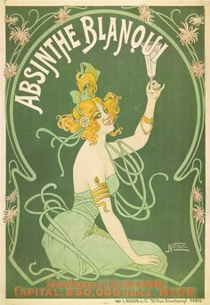 Original Vintage Absinthe Posters at The Virtual Absinthe Museum: Tamagno, Privat-Livemont