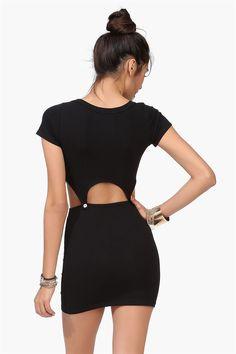 Cut Out Dress back interest