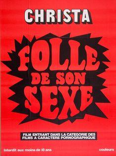 #nsfw Porno, typo et affiches des années 70!