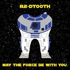 7 Hilarious Star Wars Dental Memes  http://www.baselinedental.com/7-hilarious-star-wars-dental-memes/R2DTooth