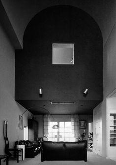 Arata Isozaki /// Hayashi House /// Sasaoka, Chūō, Fukuoka, Japan /// 1976-77