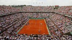 Stade Roland Garros in Paris, is where the French open is held, its a very prestigious stadium and was created in 1928. The surface is clay, the French Open is held every year from late May into early June.