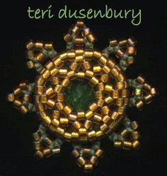 TATtle TALES Tatting Patterns: Rosetted Eye Candy: Starburst or Sunburst, It's All Good - All designs, tatting and beading by Teri