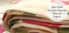 What is a Fat Quarter & other Fabric Dimensions {free printable chart} - Easy Sewing Projects, Embroidery Stitches, Patchwork Patterns & Mor. Quilting Tips, Quilting Tutorials, Quilting Projects, Quilting Designs, Sewing Tutorials, Sewing Projects, Sewing Tips, Art Quilting, Quilt Art