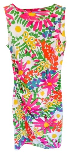 J.McLaughlin Multicolor Sage Sleeveless Dress.