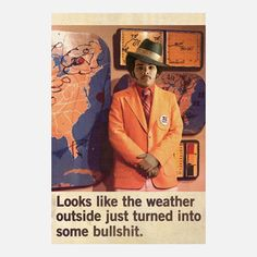 Weatherman 1972 12x18 now featured on Fab.