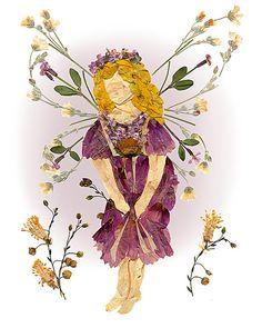 """Flower Fairy 8 x 10 Fine Art Print - Original """"Fairy of Forgiveness"""" Fantasy…"""