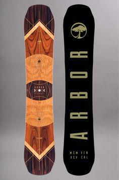 Planche de snowboard homme Arbor-Wasteland Premium-FW15/16
