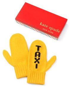 Taxi mittens!