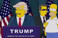The Simpsons has a knack of predicting the future but they may have surpassed themselves with this one – predicting Donald Trump would be president of America a full 16 years ago. http://metro.co.uk/2016/11/09/the-simpsons-predicted-president-trump-16-years-ago-as-a-warning-to-america-6245205/