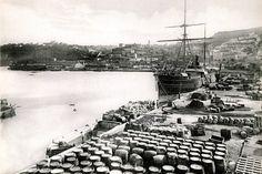 Port d'Oran, Algérie Française, 1905