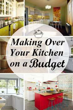Here are some kitchen improvements that will blow you away.  Try them and have a kitchen face lift any time  to inspire your cooking!