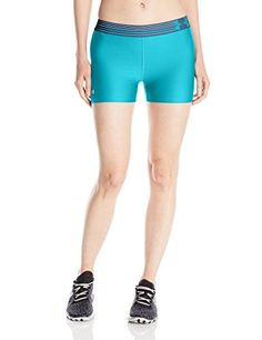 Under Armour Women's HeatGear Armour Shorty, Pacific (478...