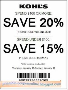 Last Day- Kohl's Coupon Kohls Printable Coupons, Free Printables, Walgreens Coupons, Michaels Coupon, Mcdonalds Coupons, Bakery Supplies, Custom Business Cards, Aeropostale, The Help