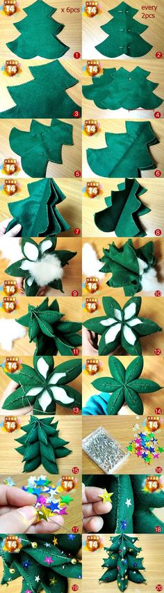 This would be perfect for Jess! She can have her own Christmas tree, without the expense or hassle of a real or boxed one