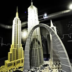 Amazing LEGO Architecture | Things We're Diggin': LEGO Buildings by Adam Tucker