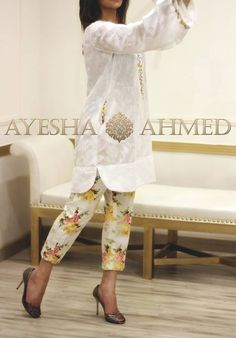 Ayesha Ahmed Spring/Summer Lawn 2016 Volume I
