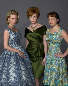 Mad Men-beautiful period clothing!