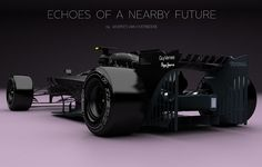 """Welcome to the age of """"why don't we have jet cars yet?"""" What will our Formula One cars look like in the near future? Fan and designer Andries van Overbeeke put together this stunning concept of what he envisions as a 2017 Red Bull car. Program Maker, Porsche Taycan, Formula 1 Car, Helmet Design, Grid Girls, First Car, Future Car, Look Cool, Red Bull"""