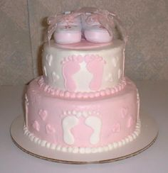 baby shower ideas for girls | Baby shower cakes - May 2011 Birth Club - BabyCenter